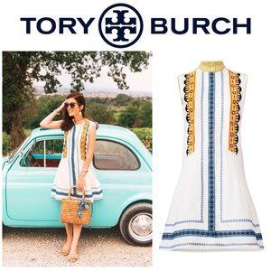 Tory Burch Adriana Dress sz 2 EUC